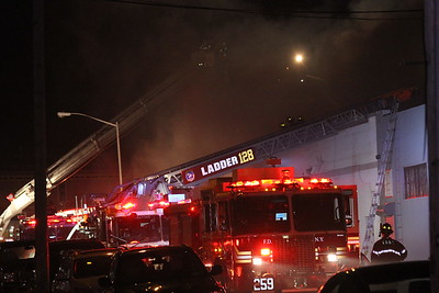 Factory Fire - 43-34 37th St, Queens, NY - 8/3/16