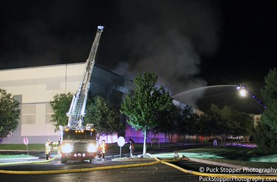 General Alarm Warehouse Fire - 110 Merritt Blvd, Fishkill, NY - 8/30/16