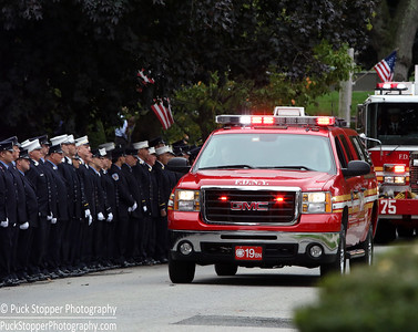 LODD Funeral - FDNY DC Fahy, Yonkers, NY - 10/1/16