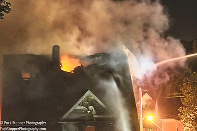 Structure Fire - 10 Wayanoke Ave, White Plains, NY - 9/11/16