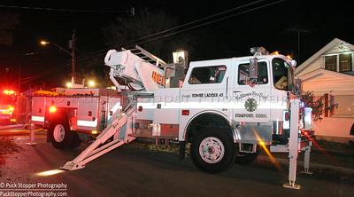 Structure Fire - 26 Ogden Rd, Stamford, CT - 11/7/16