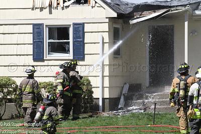 2 Alarm House Fire - 34 Allison Rd, Katonah, NY - 4/18/17