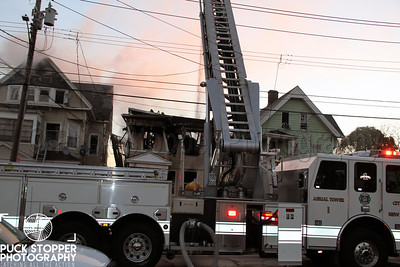 3 Alarm Structure Fire - 425 Howard Ave, New Haven, CT - 11/11/17