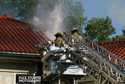 Chappaqua FD with M/A 3rd alarm fire at 72 Leroy Rd on June 28, 2017.  Photos by Jon Tenca, see more at http://www.puckstopperphotography.com/p152549362!