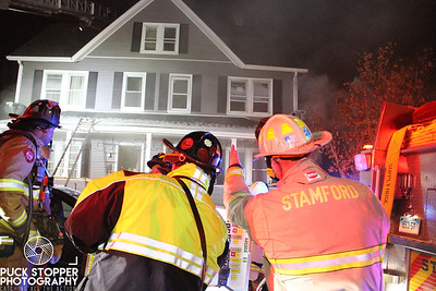 Basement Fire - 21 Hazel St, Stamford, CT - 12/31/17