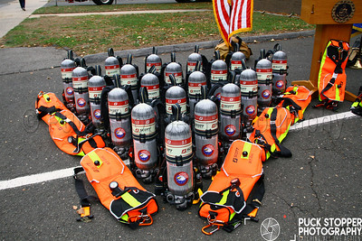 Stamford Fire receives new Scott Air Packs. Nov 14, 2017.  Photos by Jon Tenca, see more at http://www.puckstopperphotography.com/p732170821