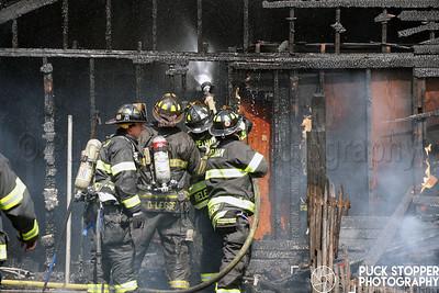 Shed Fire - 75 Pelham Ave, Pelham, NY - 6/15/17