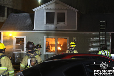 SFD working a house fire at 33 Grenhart Rd. Dec 17, 2017.  Photos by Jon Tenca, see more at http://www.puckstopperphotography.com/p982165479