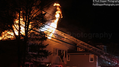 Structure Fire - 46 Riverdale Ave, Greenwich, CT - 3/24/17