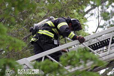 Structure Fire - 6 Perkley Ln, Greenwich, CT - 5/22/17