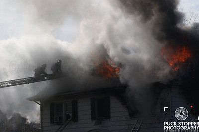 Two Alarm House Fire - 340 King St, Port Chester, NY - 12/26/17