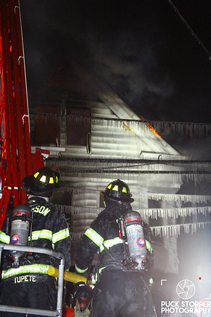 Paterson FD working a 2nd alarm house fire at 178 Fulton St. Jan 7, 2018.  Photos by Jon Tenca, see more at http://www.puckstopperphotography.com/p156299172