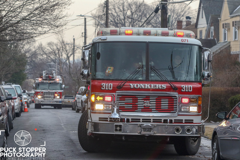 """Yonkers FD working a 2nd alarm house fire at 199 Kimball Terrace. Feb 10, 2018.<br /> <br /> Photos by Jon Tenca, see more at <a href=""""http://www.puckstopperphotography.com/p732316491"""">http://www.puckstopperphotography.com/p732316491</a>."""