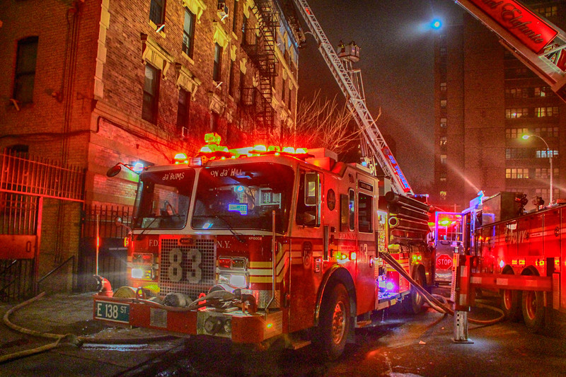"FDNY 2nd Alarm Apartment Building Fire at 570 St Marys St. Jan 23, 2018.<br /> <br /> Photos by Jon Tenca, see more at <a href=""http://www.puckstopperphotography.com/p191667669"">http://www.puckstopperphotography.com/p191667669</a>"