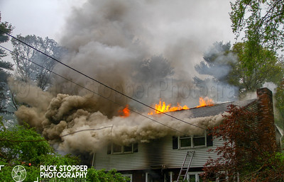3 Alarm Fatal House Fire - 1008 Walnut Plain Rd, Rochester, MA - 5/20/18