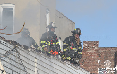 Mount Vernon FD working a third alarm building fire at 23 Mount Vernon Ave. Jan 6, 2018  Photos by Jon Tenca, see more at http://www.puckstopperphotography.com/p761447546