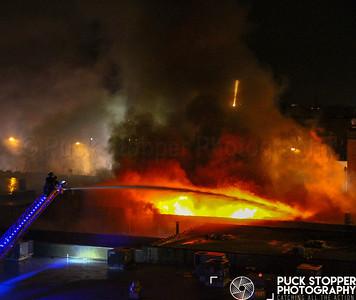 6 Alarm Building Fire - 57 Lexington Ave, Passaic, NJ - 7/17/18