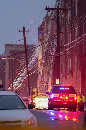 Apartment Fire - 637 Van Cortlandt Park Ave, Yonkers, NY - 12/2/18