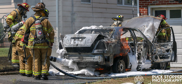 Car Fire - Prince Place, Stamford, CT - 8/8/18