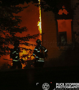 House Fire - 2 Locust Rd, Greenwich, CT - 8/10/18