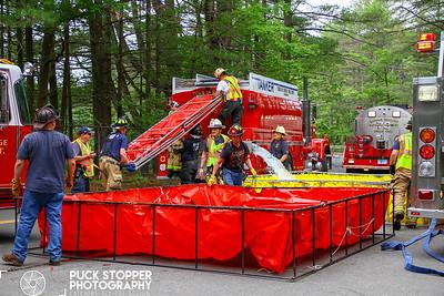 Tanker Drill - Stamford Reservoir, Stamford, CT - 6/10/18
