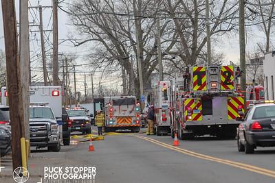 Tanker Rollover w/ hazmat - 391 Fairfield Ave, Stamford, CT - 4/30/18