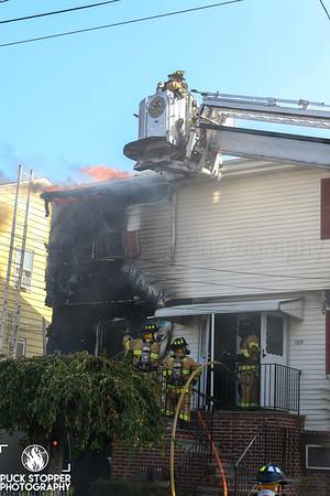 2 Alarm Dwelling Fire - 169 Wardwell St, Stamford, CT - 10/01/19