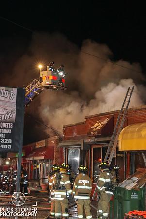 3 Alarm Commercial Building Fire - 72 Lave Ave, Danbury, CT - 1/14/19