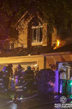 3 Alarm Condo Fire - 43 Sugar Maple Ln, Hamburg, NJ - 5/18/19