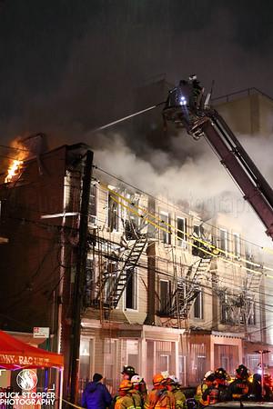 Bronx 3rd Alarm at 952 Rogers Pl, Bronx. Nov 18, 2019.