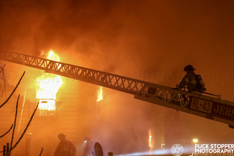 3 Alarm Vacant Dwelling Fire - 45 Jordan St, Jersey City, NJ - 3/18