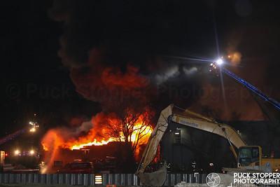 Glen Cove 5th Alarm Commercial Building Fire