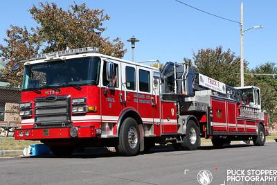 Apparatus Shoot - BCFD Truck 5, Baltimore, MD - 10/18/19