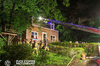 House Fire - 41 Kent Ave, Hastings-on-Hudson, NY - 5/29/19