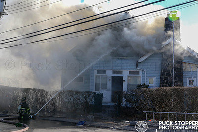 Mount Vernon House Fire on Johnston St on 2/25/19