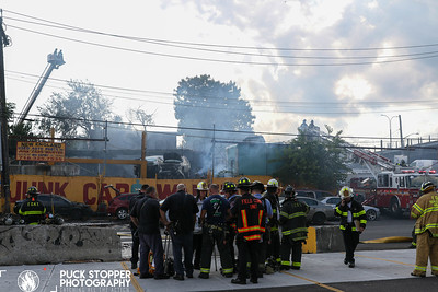 Multiple Fatal Junkyard Fire - 4220 Boston Rd, Bronx, NY - 9/4/19