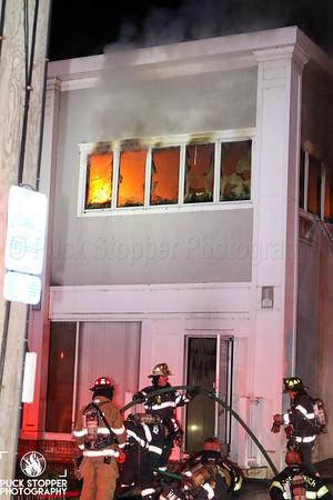 Structure Fire - 522 East Putnam Ave, Greenwich, CT - 10/21/19