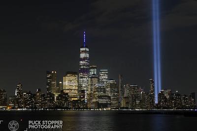 Tribute Lights Shoot - Multiple Locations, NJ - 9/11/19