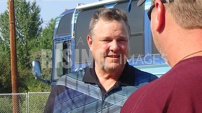 Jon Tester At Pearl Jam Rock The Vote Festival In Missoula, MT
