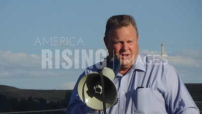 Jon Tester At Labor Day Rally In Three Forks, MT