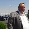 Jon Tester At Command Center Tour In Billings, MT