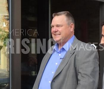 Jon Tester At Meet And Greet In Bozeman, MT