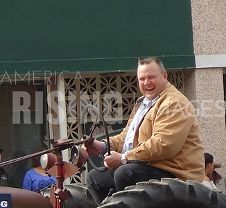 Jon Tester At Bucking Horse Parade In Miles City, MT