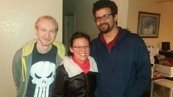 We met with one of Jon's buddies outside of LA, Harry.