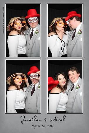 Jonathan & Micah wedding 4/28/18