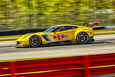 2019 Acura Sports Car Challenge at Mid-Ohio - Tommy Milner and Oliver Gavin in the #4 Chevrolet Corvette C7.R - Corvette Racing