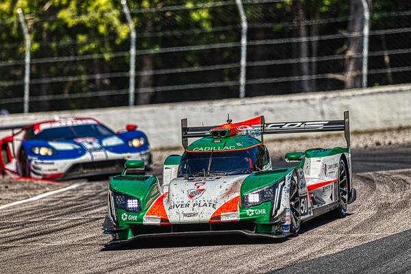 2019 Mobil 1 SportsCar Grand Prix @ Canadian Tire Motorsport Park - Victor Franzoni and Will Owen in the #50 Cadillac DPi - Juncos Racing AND Dirk Mueller and Joey Hand in the #66 Ford GT - Ford Chip Ganassi Racing
