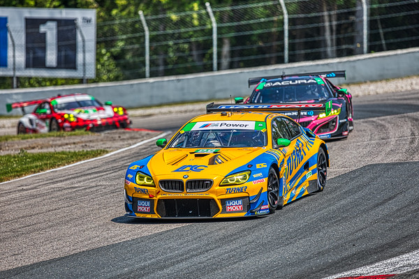 2019 Mobil 1 SportsCar Grand Prix @ Canadian Tire Motorsport Park - Bill Auberlen and Robby Foley in the #96 BMW M6 GT3 - Turner Motorsport Racing AND Mario Farnbacher and Trent Hindman in the #86 Acura NSX GT3 - Meyer Shank Racing w/ Curb-Agajanian