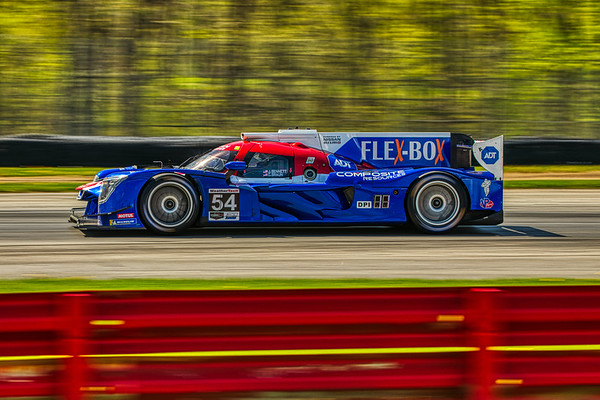 2019 Acura Sports Car Challenge at Mid-Ohio - Colin Braun and Jonthan Bennett in the #54 Nissan DPi - CORE autosport