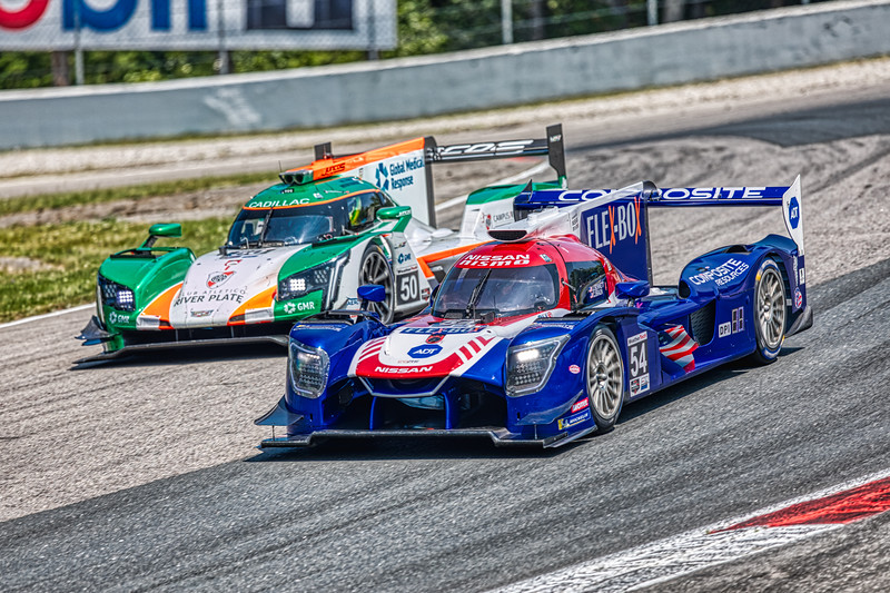 2019 Mobil 1 SportsCar Grand Prix @ Canadian Tire Motorsport Park - Colin Braun and Jonathan Bennett in the #54 Nissan DPi - CORE autosport AND Victor Franzoni and Will Owen in the #50 Cadillac DPi - Juncos Racing